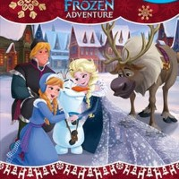 Mainan Edukasi My Busy Book Disney Olaf's Frozen Adventure includes...