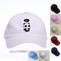 Best Quality Topi baseball cap / tumbrl cap panda