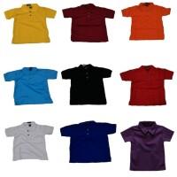 Polo Kerah Anak   Kaos Anak   Shirt Anak Warna   POLO POLOS BIRU  T19