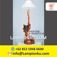 Jual Lampu Kayu Kopi Antik MURAH Surabaya