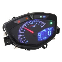 Koso Style Speedometer with 8 Colours Backlight for LC135 MX135