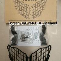 Screen Headlight Head Light Headlamp Guard Honda CRF 250 Rally HGP