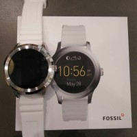 Fossil Q founder Smartwatch Rubber White