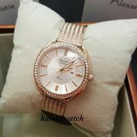 jam tangan wanita alexander cristie ac2641 rosegold