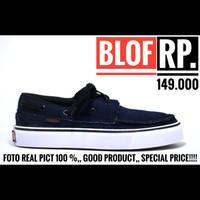 Sepatu Vans Zapato Navy For Men Foto Real Pict 100%