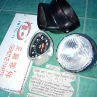LAMPU DEPAN SPEEDOMETER HONDA S90 nium