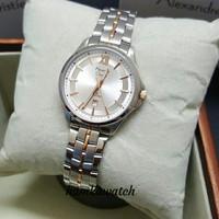 jam tangan wanita alexander cristie ac8530 silver gold