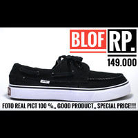 Sepatu Vans Zapato Hitam putih For Men Foto Real Pict 100%