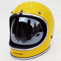 Bell Bullitt helm custom. helm cakil. helm jadul. helm classic retro
