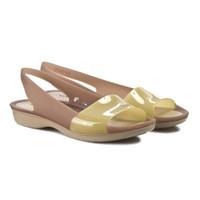 sepatu wanita cewek karet casual flat shoes crocs women original 100%