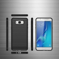 Soft Case Ipaky Carbon Fiber Samsung J7 Core Softcase Casing J7Core