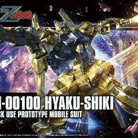 Bandai HG 1/144 Gundam Hyaku Shiki Revive seri zeta