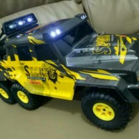 RC Car WL 18628 Rock Crawler King 6WD 6X6