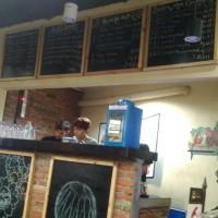 papan tulis kafe , kapur, papan promosi kafe, 60 X 80 cm