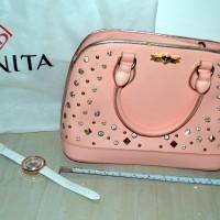 Bonita bag made in Malaysia (tas wanita) + free jam tangan Bonita