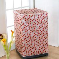 STRAWBERRY ] Cover Mesin Cuci Bahan satin tebal, anti air, anti panas