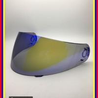 Kaca Helm Snail 815 803 888 Ink Fusion Senza Airoh Modular Revo Blue