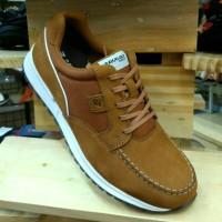 Sepatu kulit original PAKALOLO N0121 Tan