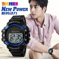 Jam Tangan Pria Led Original SKMEI Casio Sporty Anti Air Baru Karet