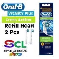 Oral B Vitality Cross Action Refill Head (2 Pcs)