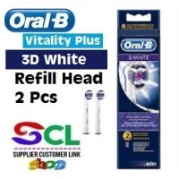 Oral B Vitality 3D White Refill Head (2 Pcs)