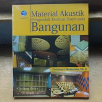 Buku Material Akustik - Pengendali Kualitas Bunyi pada Bangunan