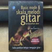 Buku Basic Mode Dan Skala Melodi Gitar Berdasarkan Akor