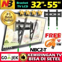 Breket Bracket Brecket TV LCD LED NBC2-T North Bayou BR Murah