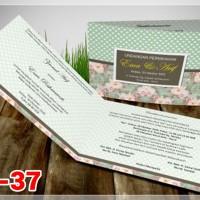 [V1] Undangan Pernikahan Soft Cover Murah & Unik 037