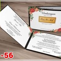 [V1] Undangan Pernikahan Soft Cover Murah & Unik 056