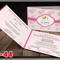 [V1] Undangan Pernikahan Soft Cover Murah & Unik 044