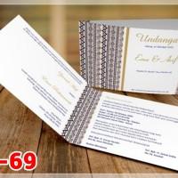 [V1] Undangan Pernikahan Soft Cover Murah & Unik 069
