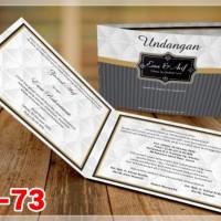 [V1] Undangan Pernikahan Soft Cover Murah & Unik 073