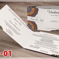 [V1] Undangan Pernikahan Soft Cover Murah & Unik 001