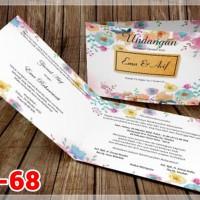 [V1] Undangan Pernikahan Soft Cover Murah & Unik 068