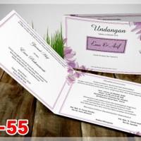[V1] Undangan Pernikahan Soft Cover Murah & Unik 055