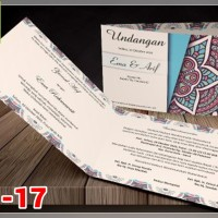 [V1] Undangan Pernikahan Soft Cover Murah & Unik 017