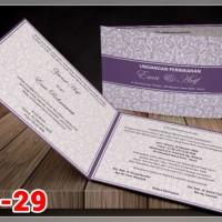 [V1] Undangan Pernikahan Soft Cover Murah & Unik 029