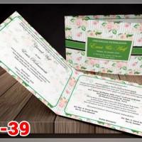 [V1] Undangan Pernikahan Soft Cover Murah & Unik 039