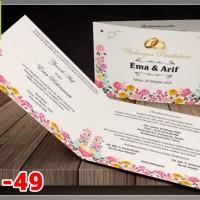 [V1] Undangan Pernikahan Soft Cover Murah & Unik 049