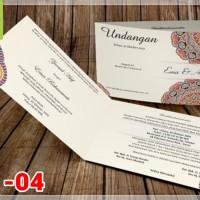 [V1] Undangan Pernikahan Soft Cover Murah & Unik 004
