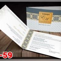 [V1] Undangan Pernikahan Soft Cover Murah & Unik 059