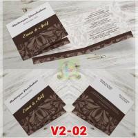 [V2] Undangan Pernikahan Soft Cover Murah & Unik 002