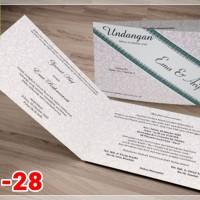 [V1] Undangan Pernikahan Soft Cover Murah & Unik 028