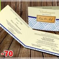 [V1] Undangan Pernikahan Soft Cover Murah & Unik 070