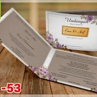 [V1] Undangan Pernikahan Soft Cover Murah & Unik 053