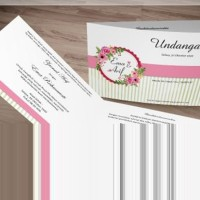 [V1] Undangan Pernikahan Soft Cover Murah & Unik 051