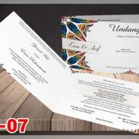 [V1] Undangan Pernikahan Soft Cover Murah & Unik 007