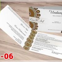 [V1] Undangan Pernikahan Soft Cover Murah & Unik 006