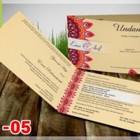 [V1] Undangan Pernikahan Soft Cover Murah & Unik 005